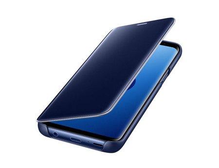 Oryginalne etui Clear View Standing Cover do SAMSUNG GALAXY S9 G960 niebieski