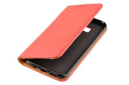 Skórzane Etui Book Cover do SAMSUNG GALAXY S8 Plus / S8+ G955 czerwony
