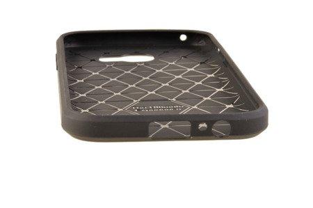 Wytrzymałe etui Back Case Carbon do SAMSUNG GALAXY A8 2018 A530 czarny